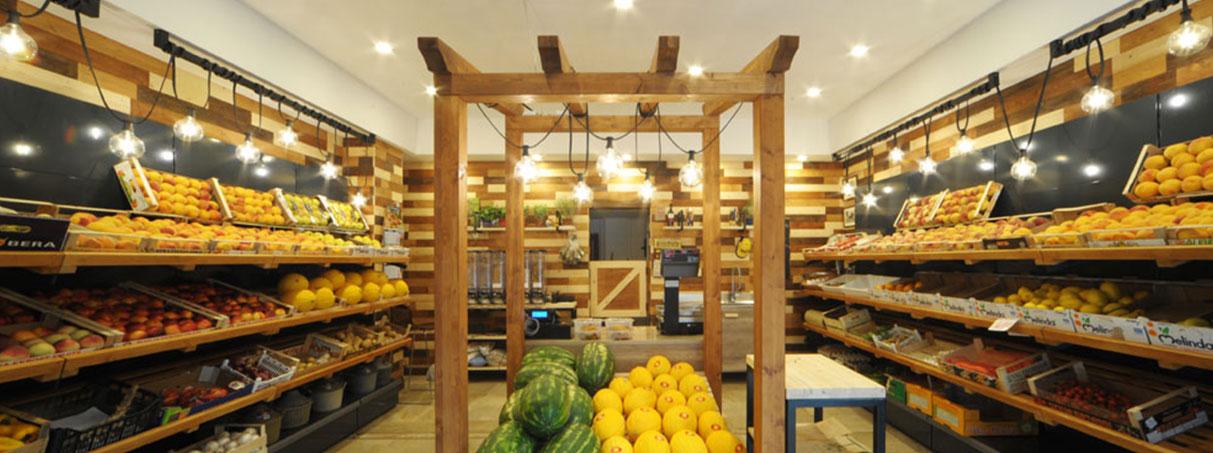 arredamenti negozi frutta e verdura
