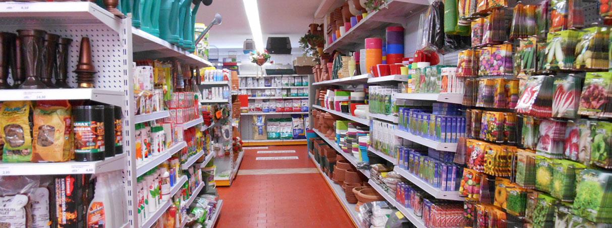 Arredatori per negozi di giardinaggio