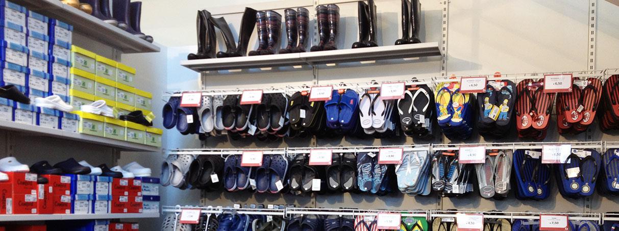 Arredi per negozi di calzature