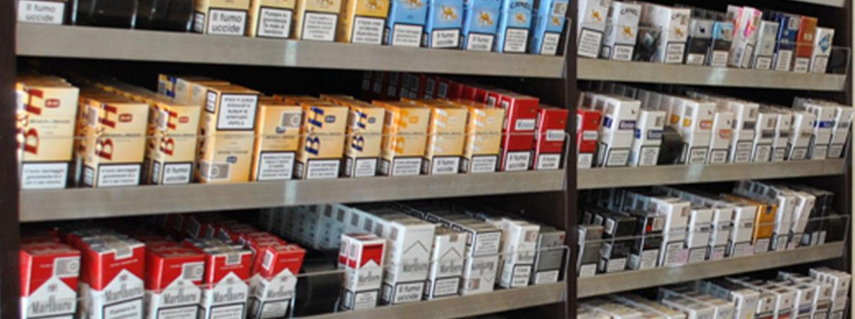 Arredi per tabaccherie