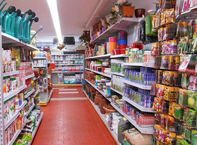 Arredamento per negozi di giardinaggio e pet shop for Centro commerciale campania negozi arredamento